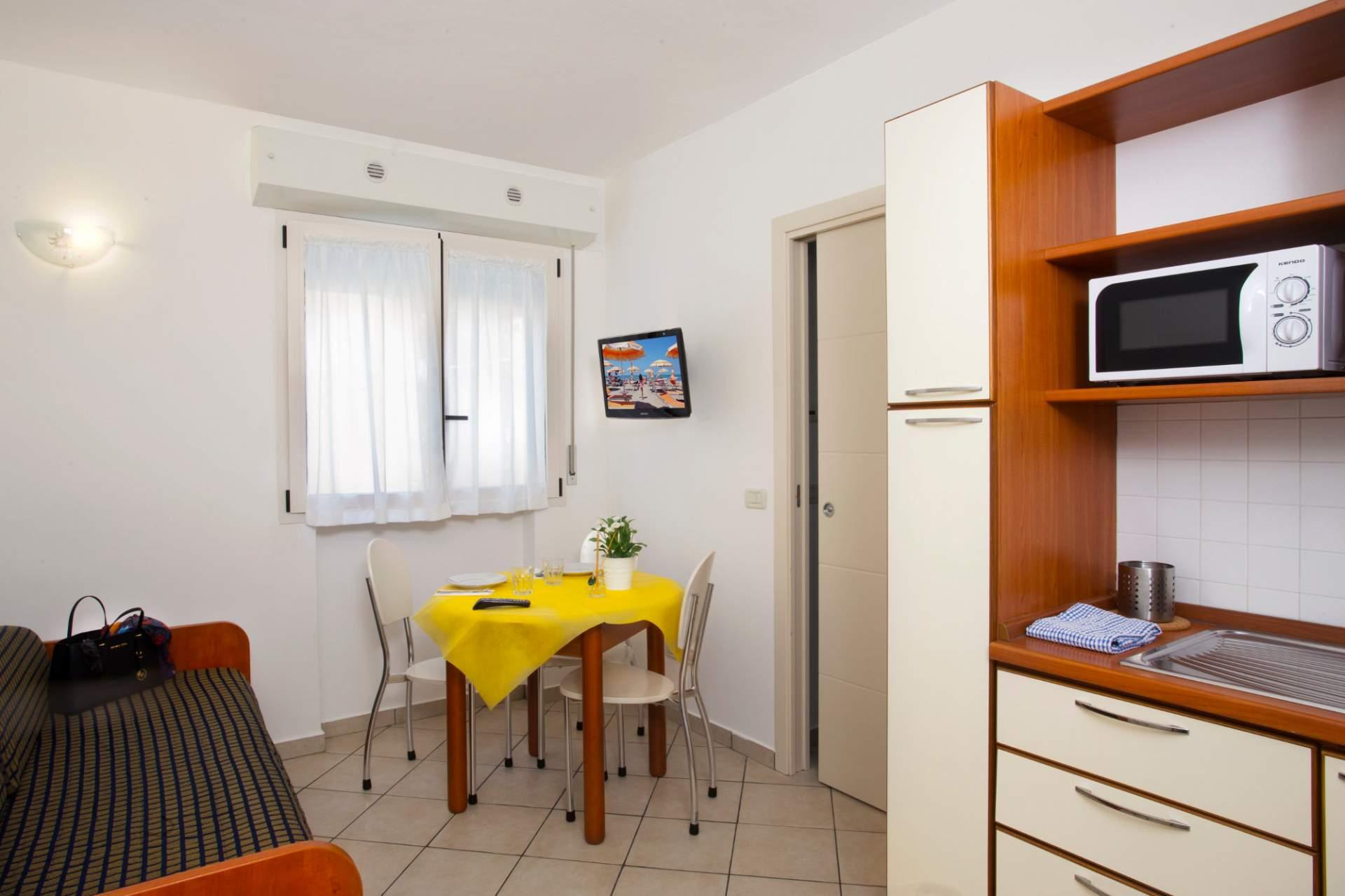 Tutti gli appartamenti del residence mimosa rimini for Appartamenti rimini